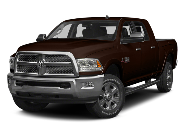 Western Brown 2014 Ram Truck 3500 Pictures 3500 Mega Cab SLT 2WD photos front view