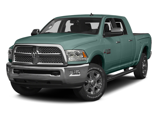 Light Green 2014 Ram Truck 3500 Pictures 3500 Mega Cab SLT 2WD photos front view