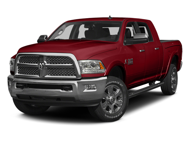 Flame Red Clearcoat 2014 Ram Truck 3500 Pictures 3500 Mega Cab SLT 2WD photos front view