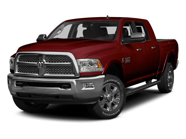 Deep Cherry Red Crystal Pearlcoat 2014 Ram Truck 3500 Pictures 3500 Mega Cab SLT 2WD photos front view