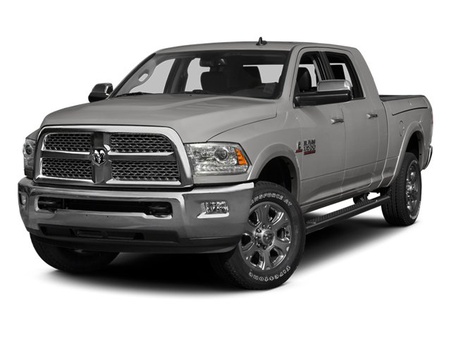 Bright Silver Metallic Clearcoat 2014 Ram Truck 3500 Pictures 3500 Mega Cab SLT 2WD photos front view