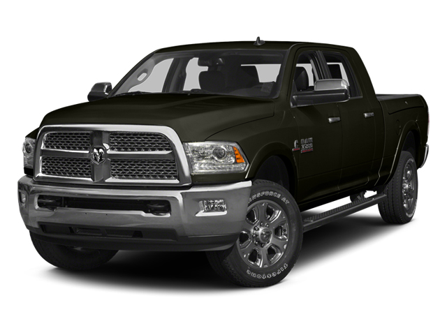 Black Gold Pearlcoat 2014 Ram Truck 3500 Pictures 3500 Mega Cab SLT 2WD photos front view