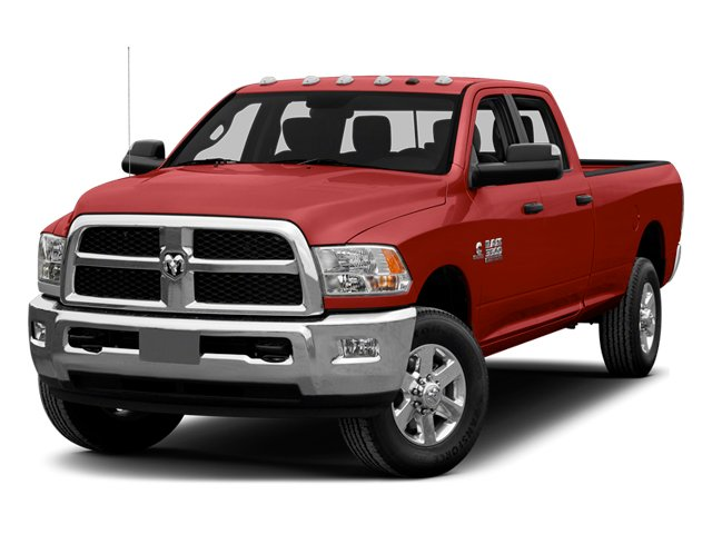 Bright Red 2014 Ram Truck 3500 Pictures 3500 Crew Cab SLT 2WD photos front view