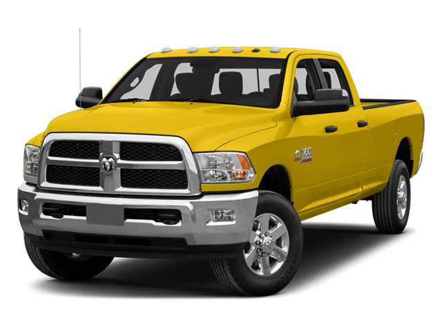 Yellow 2014 Ram Truck 3500 Pictures 3500 Crew Cab Tradesman 4WD photos front view