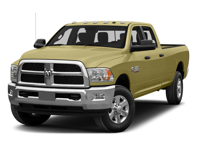Light Cream 2014 Ram Truck 3500 Pictures 3500 Crew Cab Tradesman 4WD photos front view