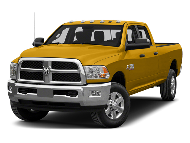 School Bus Yellow 2014 Ram Truck 3500 Pictures 3500 Crew Cab SLT 2WD photos front view
