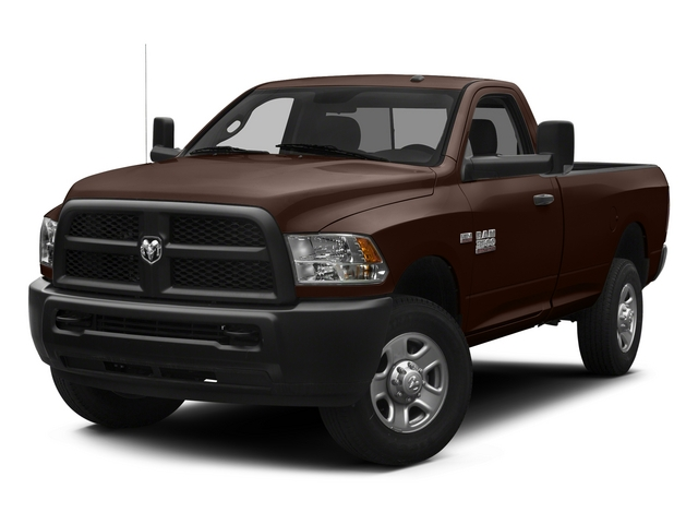 Western Brown 2014 Ram 3500 Pictures 3500 Regular Cab SLT 4WD photos front view