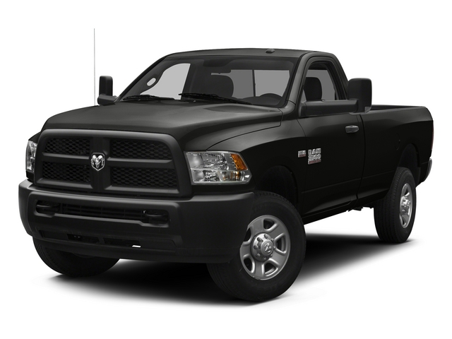 Black Clearcoat 2014 Ram 3500 Pictures 3500 Regular Cab SLT 4WD photos front view