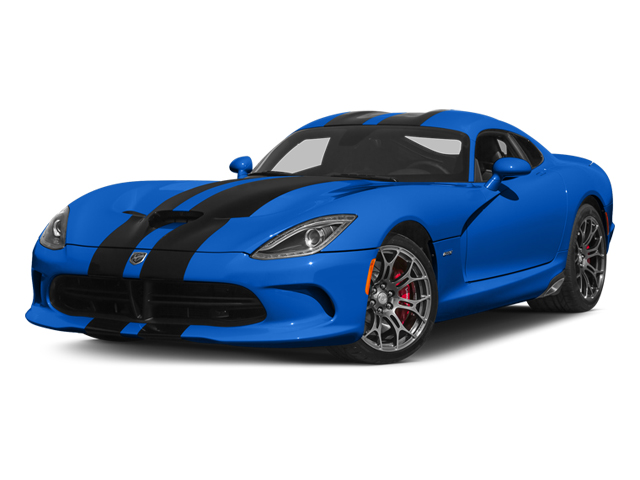 Competition Blue Pearl Coat 2014 Dodge SRT Viper Pictures SRT Viper 2 Door Coupe photos front view