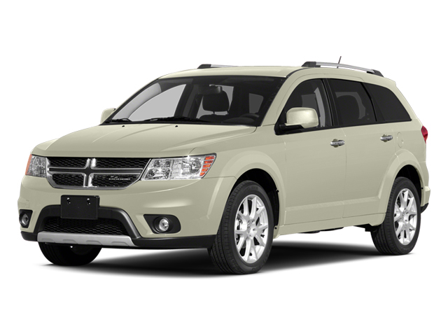 Pearl White Tri-Coat 2014 Dodge Journey Pictures Journey Utility 4D Crossroad 2WD photos front view