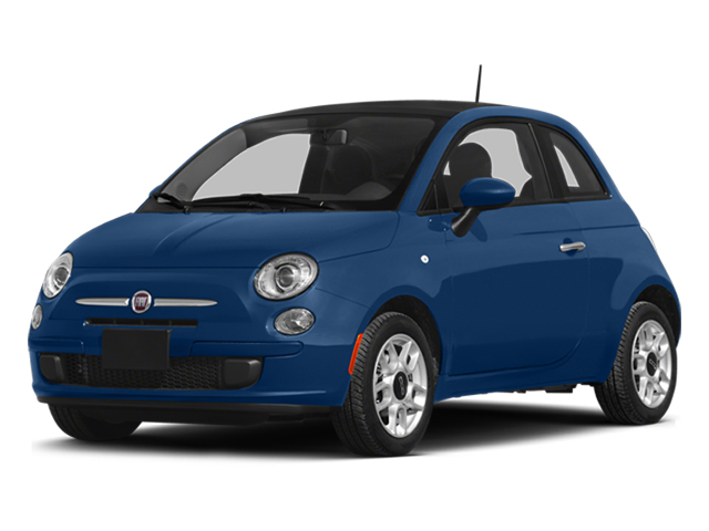 Azzurro (Blue) 2014 FIAT 500 Pictures 500 Hatchback 3D Sport I4 photos front view