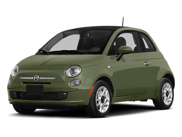 Verde Oliva (Olive Green) 2014 FIAT 500 Pictures 500 Hatchback 3D Sport I4 photos front view