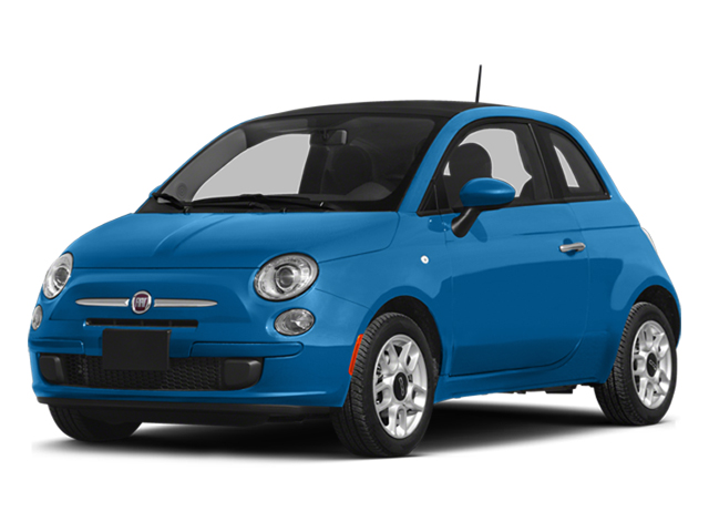Verde Azzurro (Blue-Green) 2014 FIAT 500 Pictures 500 Hatchback 3D Sport I4 photos front view