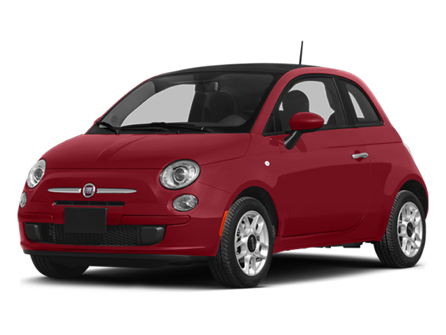 Rosso (Red) 2014 FIAT 500 Pictures 500 Hatchback 3D Sport I4 photos front view