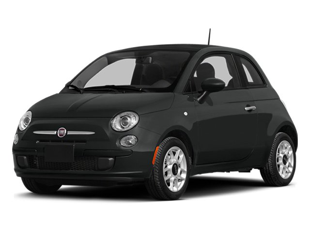 Nero Puro (Straight Black) 2014 FIAT 500 Pictures 500 Hatchback 3D Sport I4 photos front view