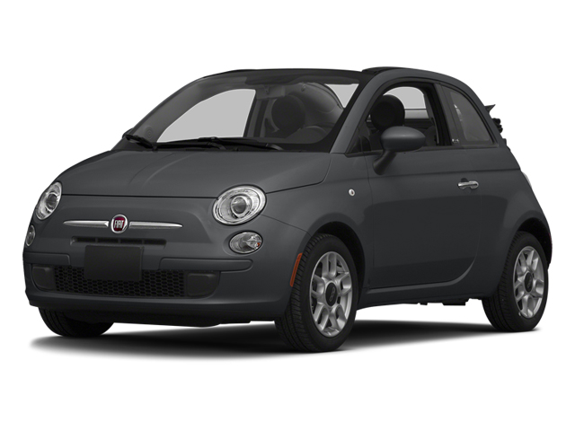 Granito Lucente (Granite Crystal) 2014 FIAT 500c Pictures 500c Convertible 2D Lounge I4 photos front view