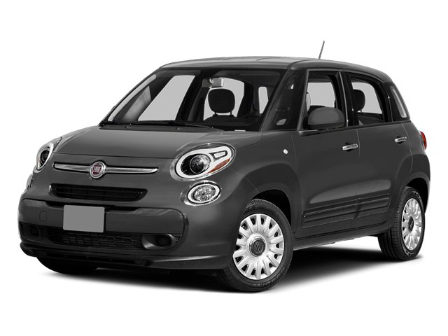Grigio Scuro (Gray Metallic) 2014 FIAT 500L Pictures 500L Hatchback 5D L Lounge I4 Turbo photos front view