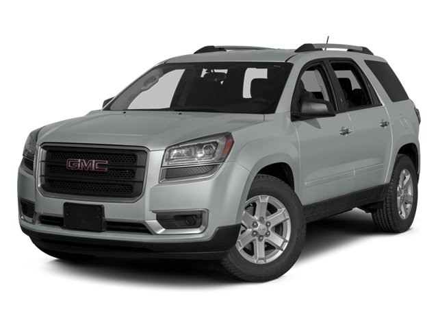 Quicksilver Metallic 2014 GMC Acadia Pictures Acadia Wagon 4D SLT 2WD photos front view