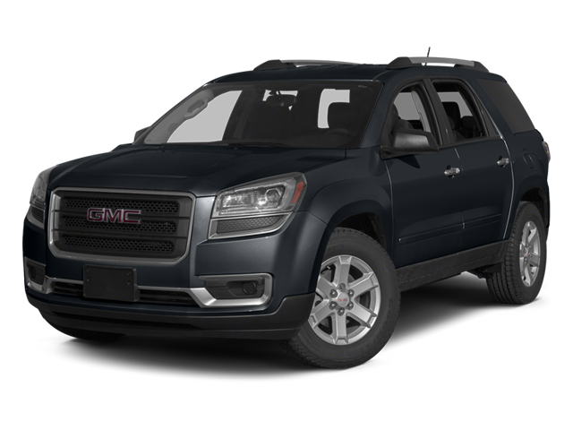 Cyber Gray Metallic 2014 GMC Acadia Pictures Acadia Wagon 4D SLE 2WD photos front view