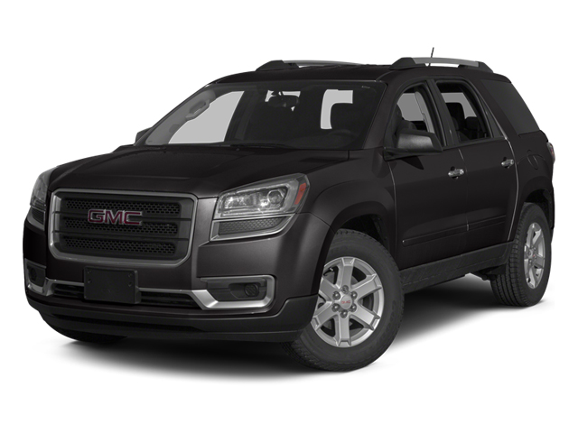 Carbon Black Metallic 2014 GMC Acadia Pictures Acadia Wagon 4D SLE 2WD photos front view
