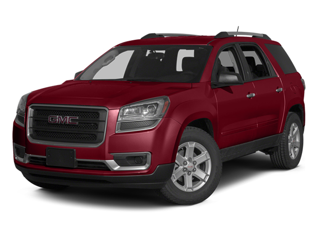 Crystal Red Tintcoat 2014 GMC Acadia Pictures Acadia Wagon 4D SLE 2WD photos front view