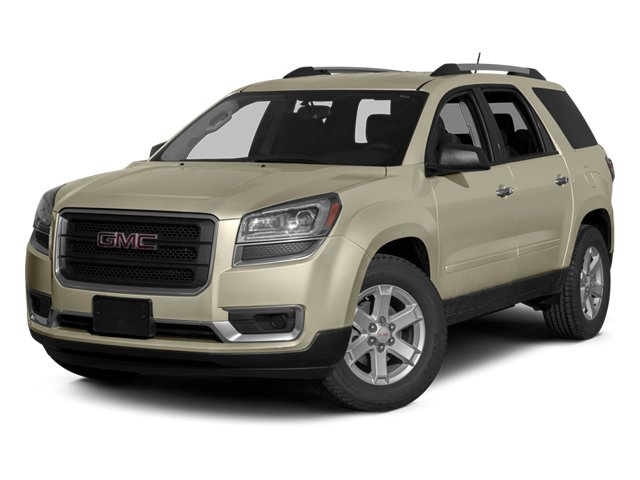 Champagne Silver Metallic 2014 GMC Acadia Pictures Acadia Wagon 4D SLT 2WD photos front view