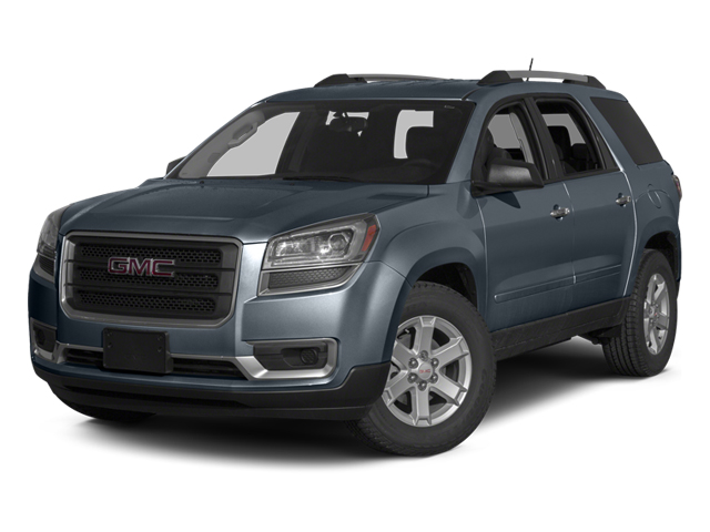 Atlantis Blue Metallic 2014 GMC Acadia Pictures Acadia Wagon 4D SLE 2WD photos front view