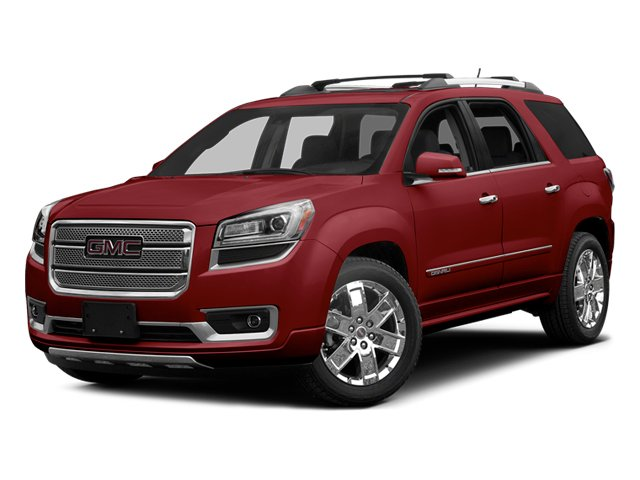 Crystal Red Tintcoat 2014 GMC Acadia Pictures Acadia Wagon 4D Denali AWD photos front view