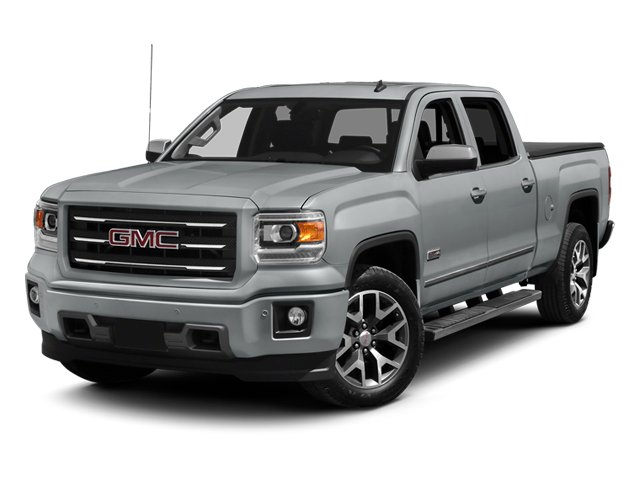 Quicksilver Metallic 2014 GMC Sierra 1500 Pictures Sierra 1500 Crew Cab 2WD photos front view