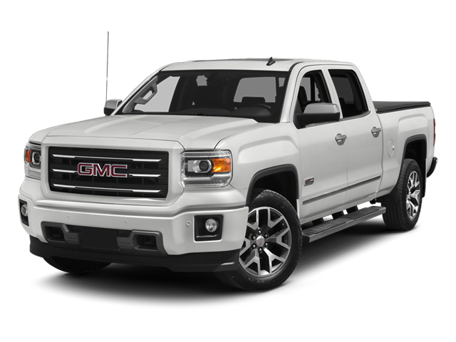 Summit White 2014 GMC Sierra 1500 Pictures Sierra 1500 Crew Cab 2WD photos front view
