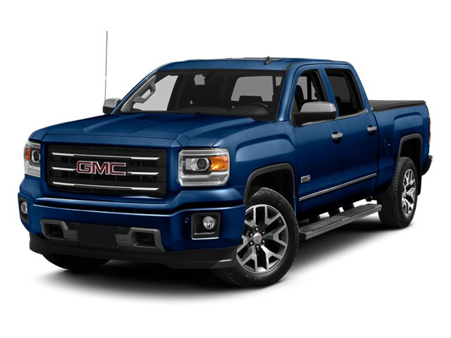 Cobalt Blue Metallic 2014 GMC Sierra 1500 Pictures Sierra 1500 Crew Cab 2WD photos front view
