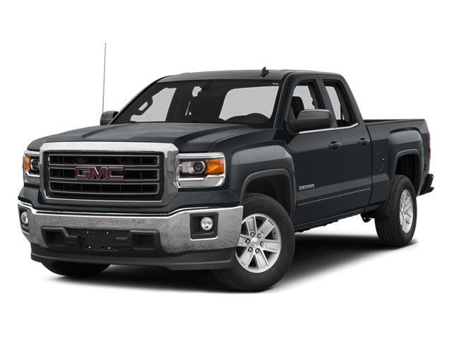 Stealth Gray Metallic 2014 GMC Sierra 1500 Pictures Sierra 1500 Extended Cab SLE 2WD photos front view