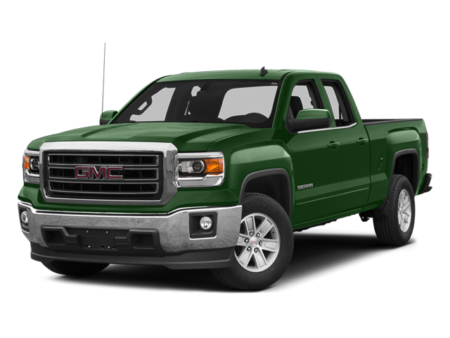 Emerald Green Metallic 2014 GMC Sierra 1500 Pictures Sierra 1500 Extended Cab SLE 2WD photos front view