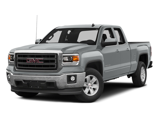 Quicksilver Metallic 2014 GMC Sierra 1500 Pictures Sierra 1500 Extended Cab SLE 2WD photos front view