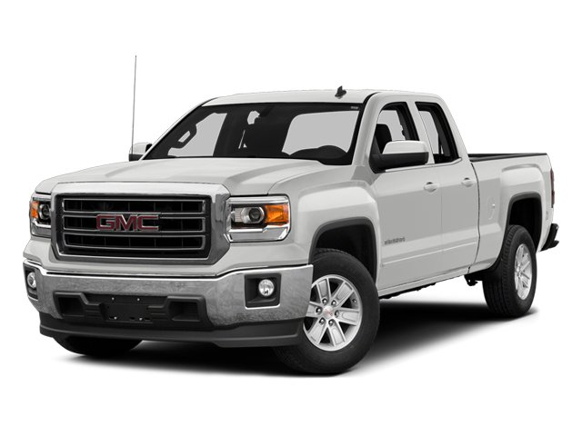 Summit White 2014 GMC Sierra 1500 Pictures Sierra 1500 Extended Cab SLE 2WD photos front view