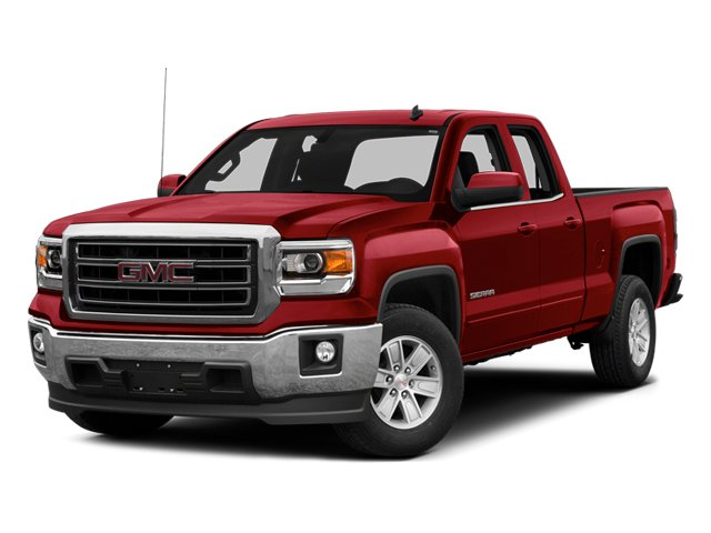 Fire Red 2014 GMC Sierra 1500 Pictures Sierra 1500 Extended Cab SLE 2WD photos front view