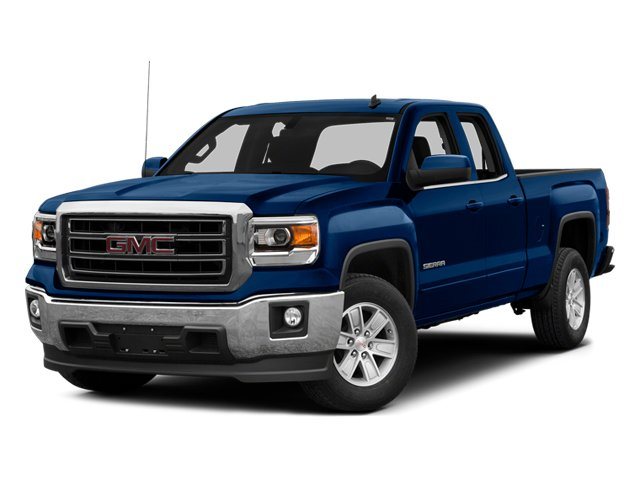 Cobalt Blue Metallic 2014 GMC Sierra 1500 Pictures Sierra 1500 Extended Cab SLE 2WD photos front view