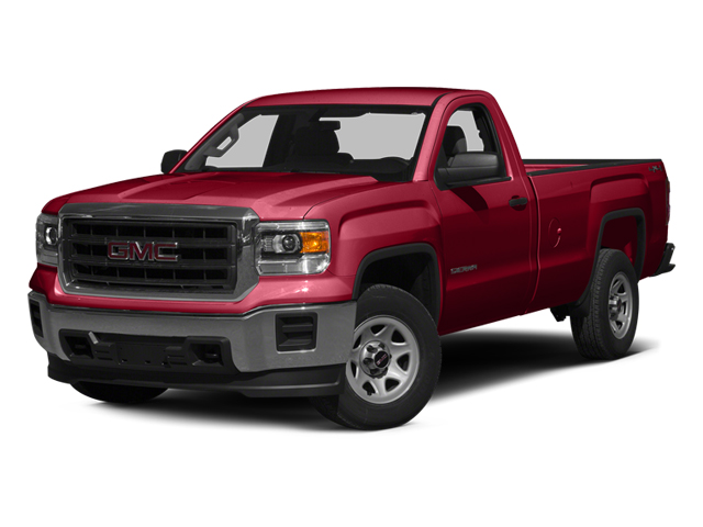 Fire Red 2014 GMC Sierra 1500 Pictures Sierra 1500 Regular Cab 4WD photos front view