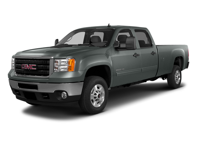 Steel Gray Metallic 2014 GMC Sierra 2500HD Pictures Sierra 2500HD Crew Cab SLT 2WD photos front view