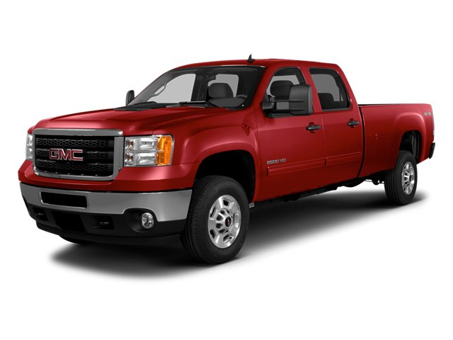 Fire Red 2014 GMC Sierra 2500HD Pictures Sierra 2500HD Crew Cab SLT 2WD photos front view