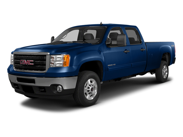 Heritage Blue Metallic 2014 GMC Sierra 2500HD Pictures Sierra 2500HD Crew Cab SLT 2WD photos front view