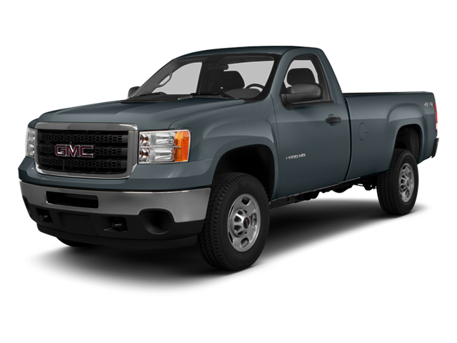 Stealth Gray Metallic 2014 GMC Sierra 3500HD Pictures Sierra 3500HD Regular Cab SLE 4WD photos front view