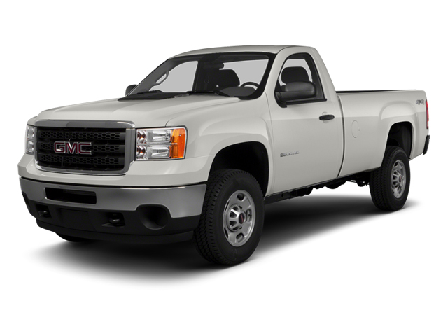Summit White 2014 GMC Sierra 3500HD Pictures Sierra 3500HD Regular Cab SLE 4WD photos front view
