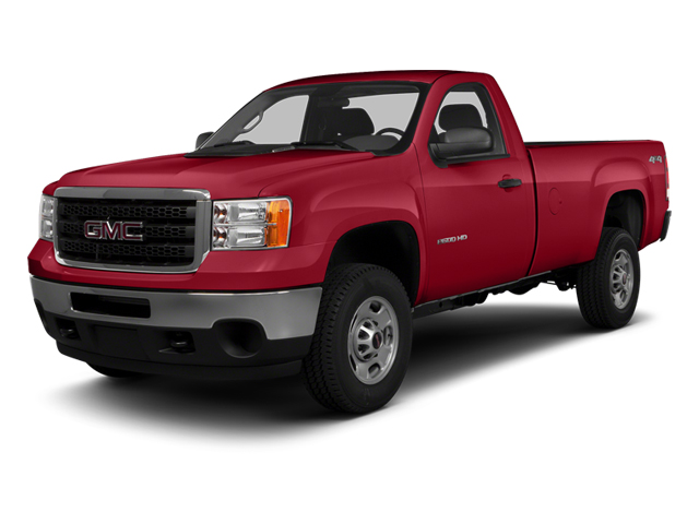 Fire Red 2014 GMC Sierra 3500HD Pictures Sierra 3500HD Regular Cab SLE 4WD photos front view
