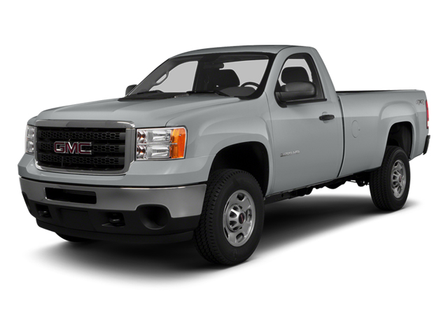 Quicksilver Metallic 2014 GMC Sierra 3500HD Pictures Sierra 3500HD Regular Cab SLE 4WD photos front view
