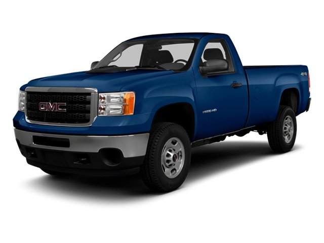 Heritage Blue Metallic 2014 GMC Sierra 3500HD Pictures Sierra 3500HD Regular Cab SLE 4WD photos front view