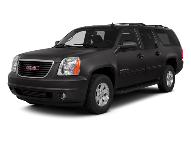 Onyx Black 2014 GMC Yukon XL Pictures Yukon XL Utility K1500 SLE 4WD photos front view