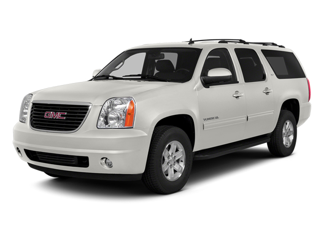 Summit White 2014 GMC Yukon XL Pictures Yukon XL Utility K1500 SLE 4WD photos front view