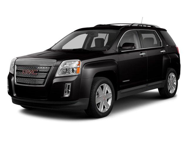 Carbon Black Metallic 2014 GMC Terrain Pictures Terrain Utility 4D SLT AWD photos front view