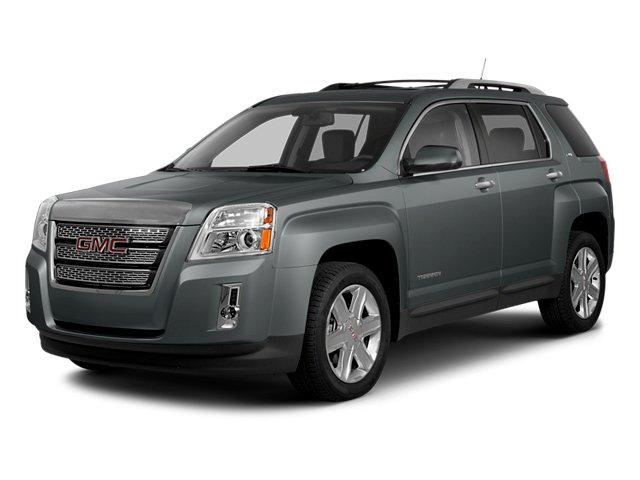 Ashen Gray Metallic 2014 GMC Terrain Pictures Terrain Utility 4D SLT AWD photos front view